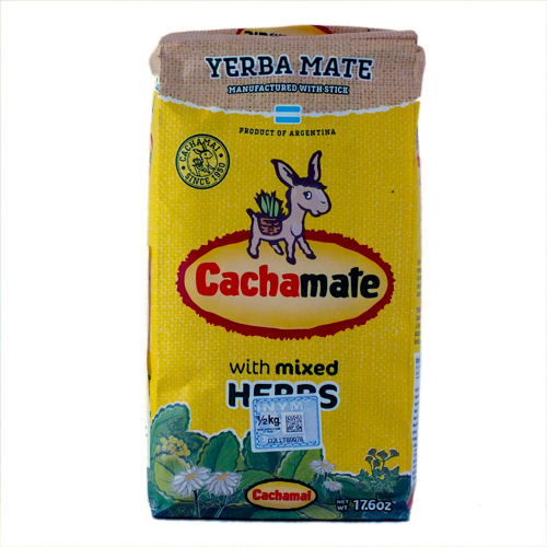 Cachamate Hierbas 0,5kg
