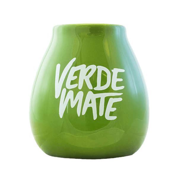 Ceramic Calabash Verde Mate - 350ml