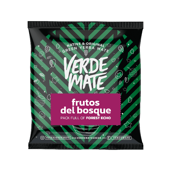 Verde Mate Frutos del Bosque 50g