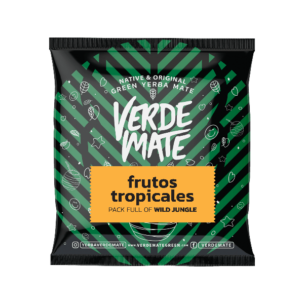 Yerba Verde Mate Green Frutos Tropicales  50g